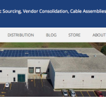 Image of New Components Company Website