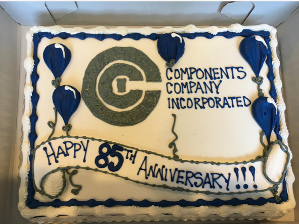 Image of CCI 85th cake