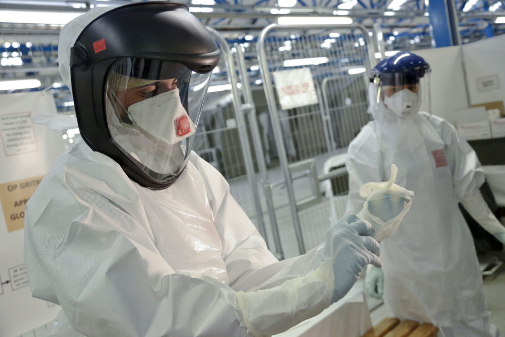 Image of safety suits